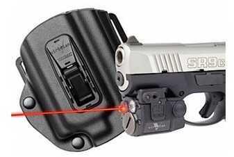 Viridian Green Lasers Viridian C5LR w/TacLoc Holster fits Ruger SR9c C5LR-PACK-C12