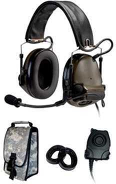 Peltor SWAT-TAC III ACH Kit-Dual Comm, HB-Radios 88063-00000