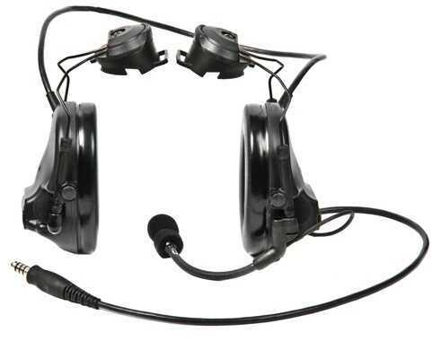Peltor Single Comm SwatTac III ARC HS Covert Black Md: MT17H682P3AD-47 SV