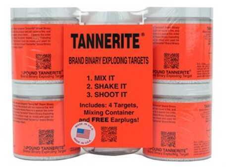 Tannerite Half Brick 1/2 Lb Exploding Target 4 Pack 1/2BR