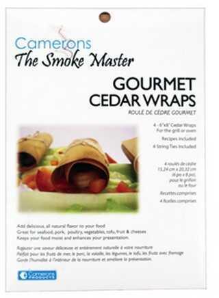 Camerons Products Cedar Wraps 6 x 8 (4 Wraps/sleeve) CW6X8-4