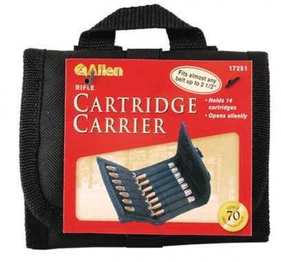 Allen Cases Belt Carrier Ammo Pouch Rifle, Black 17251