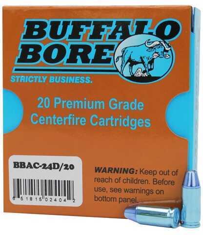 Buffalo Bore Ammunition 9mm +P JHP (Per 20) 115 Gr 24D/20