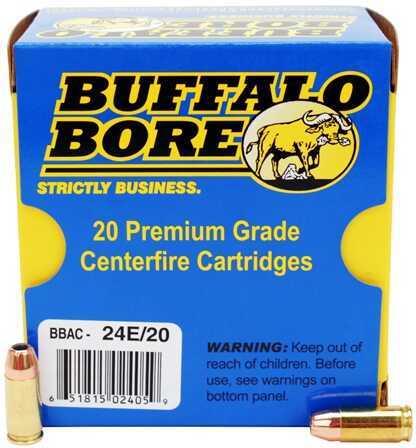 Buffalo Bore Ammunition 9mm +P JHP (Per 20) 124 Gr 24E/20