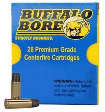 Buffalo Bore Ammunition 38 Super +P (Per 20) 124 Gr JHP 33B/20