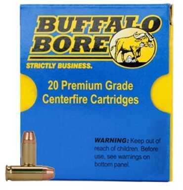Buffalo Bore Ammunition 38 Super +P (Per 20) 124 Gr FMJ-FN 33C/20
