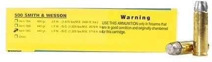 Buffalo Bore Ammunition 500 S&W 440 Grains Hard Cast LFN-GC (Per 20) 1325 fps 18C/20