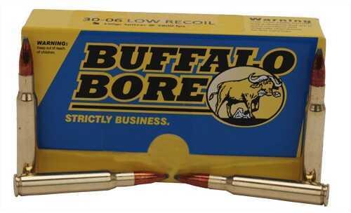 Buffalo Bore Ammunition Premium 30-06 Springfield (Per 20) 150 Gr Spitzer 40D/20