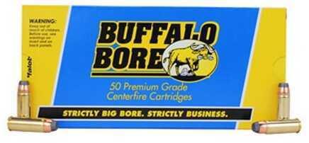 Buffalo Bore Ammunition Heavy 45 Colt 300 Gr JFn (Per 50) 3B/50