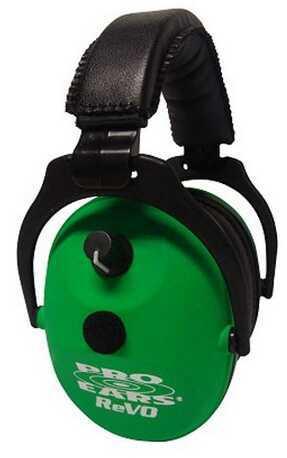 Pro Ears ReVO Electronic Neon Green ER300-NG