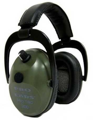 Pro Ears Pro Tac Plus Gold Green, Lithium 123 Battery GS-PT300-L-G