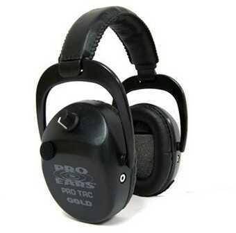 Pro Ears Pro Tac SC Gold Black, Lithium 123 Battery GS-PTSTL-L-B