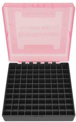 SmartReloader Ammo Box #2 100 Round .44Mag, .45Colt, Pink VBSR610P