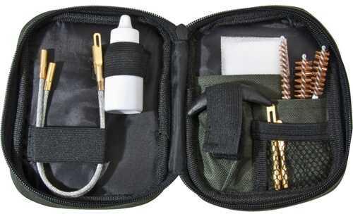 Barska Optics Pistol Cleaning Kit, Flexible Rod & Pouch Md: AW11964