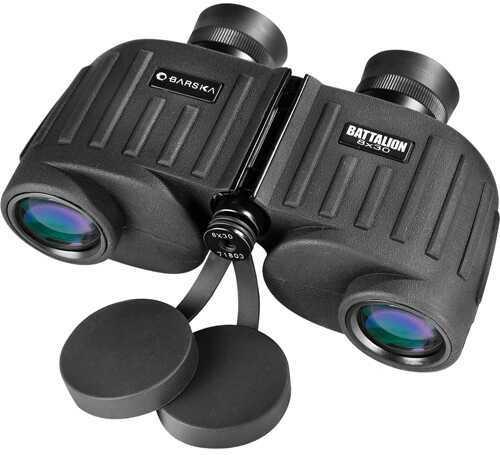 Barska Optics Barska Battalion 8x30 Binoculars , Bak-4,FMC,Close Focus Md: Ab11036