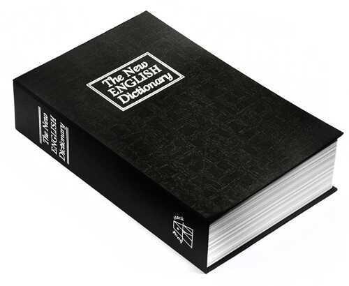 Barska Optics Book Safe w/Key Hidden Dictionary AX11680