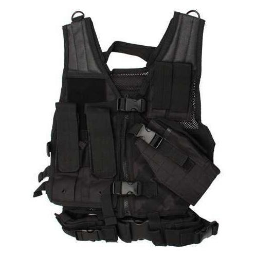 NcStar Tactical Vest Childrens, Black CTVC2916B