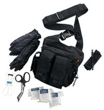 US Peacekeeper Rapid Deployment w/Med Supply Kit Black P20308