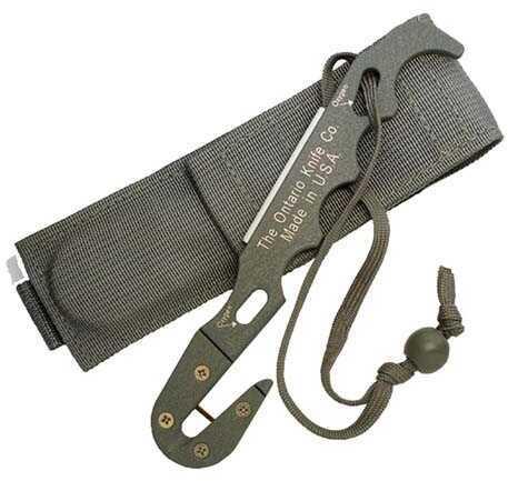 Ontario Knife Company Strap Cutter FG Model 1 w/Sheath 1406