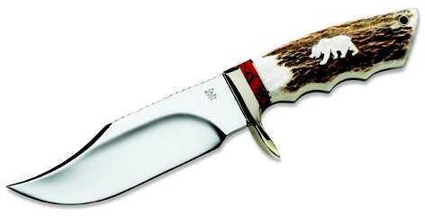 Buck Knives 7434 WBC Grizzly Bear Large Skinner 926EKSLE