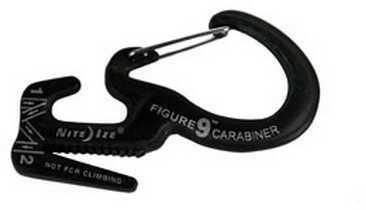 Nite Ize Figure 9 Carabiner Small, Black C9S-02-01