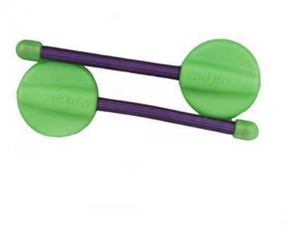 "Nite Ize Gear Tie Hanging Twist Tie 2"" Lime/Purple GTU2-M2-2R7"