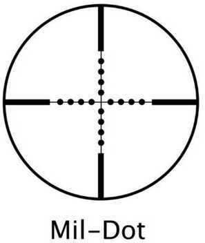Barska Optics Scope 3-12X40 Airgun Mil Dot AO AC10008