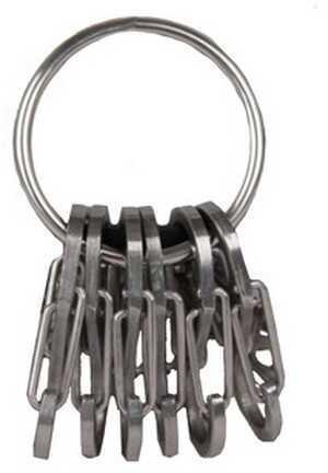 Nite Ize Key Ring Steel Stainless/Stainless Steel S-Biners KRGS-11-R3