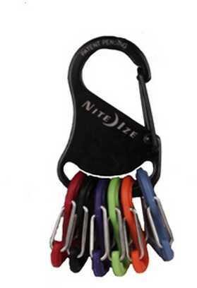 Nite Ize Key Rack Black/Plastic S-Biners KRK-03-01