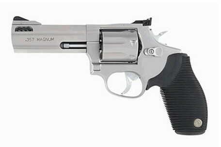"""Revolver Taurus M627 Tracker 357 Magnum 4"""" Barrel Stainless Steel 7 Round 2627049"""
