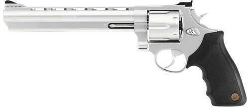"Taurus M44 44 Magnum 8 3/8"" Barrel 6 Round Vent Ribbed Stainless Steel Revolver 2440089"