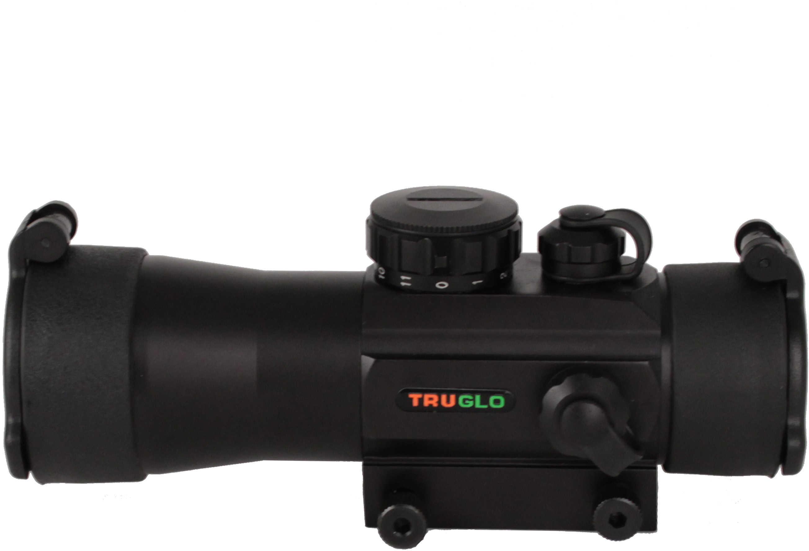 Truglo XtRM Red Dot Scope 2X42mm 30mm 5MOA 1x CR2032 Battery Black Finish TG8030B2
