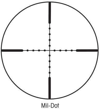 Sightron SI Hunter Series 3-9x40 Mil-Dot Riflescope 31003