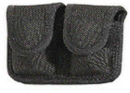 Bianchi 7301 Speedloader Pouch Black, Hidden Snap 18192