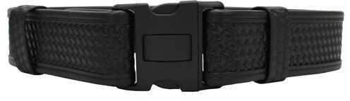 "Bianchi 7950 AccuMold Elite Sam Browne Belt Basket Black, X-Large 46""-52"" 22129"