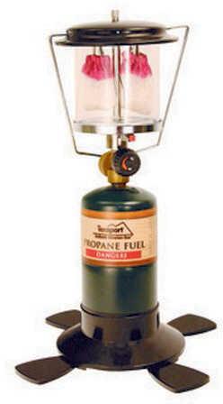 Tex Sport Double Mantle Propane Lantern Md: 14203