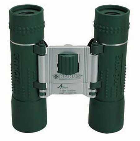 Konus Optical & Sports System Green Rubber, Ruby Coating Binocular 10x25 2032