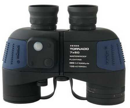 Konus Optical & Sports System Waterprof Binoculars 7x50 w/Compass & Light, Floating 2325