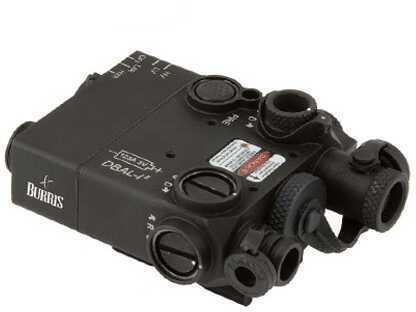 Burris AR-DBAL Laser .5mW, .7mW IR Red Laser, Black Md: 300300