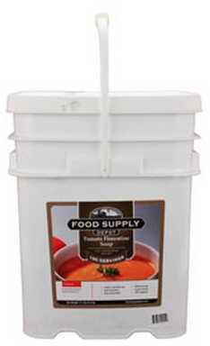 Food Supply Depot 20 Pouch Bucket Tomato Florentine 90-04230