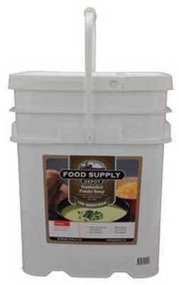 Food Supply Depot 20 Pouch Bucket Nantucket Potato Soup 90-04235