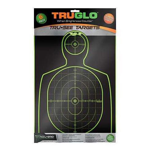 """Truglo Handgun Target 12x18"""" 6 Pack TG13A6"""