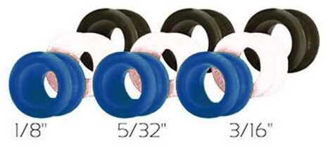Truglo Versa Peep Black/Blue/White TG75XR