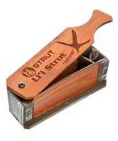 Hunter Specialties Box Call Li'L Strut W/Li'L Strut Diaphram Call 07004
