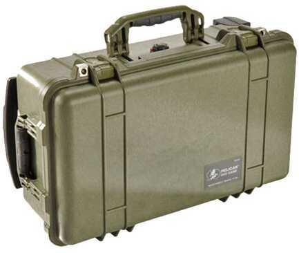 Pelican 1510 Hard Case NF, Wl/Nf, OD Green 1510-001-130