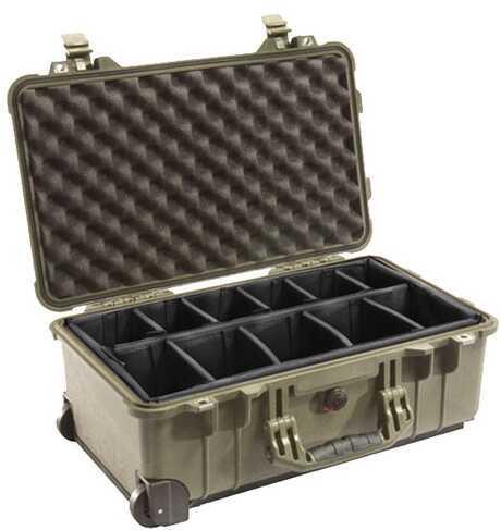 Pelican 1514 Hard Case Wl/Dd, OD Green 1510-004-130
