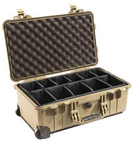 Pelican 1514 Hard Case Wl/Dd, Desert Tan 1510-004-190