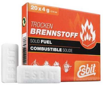 Esbit Solid Fuel 20 Piece, 4g E-FUEL-20X4