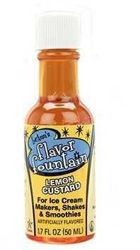 YayLabs! Flavor Fountain (Per 1) Lemon Custard F-FF-BOTTLE-LC
