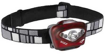 Princeton Tec Vizz LED Headlamp Red VIZZ-RD